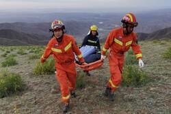 Death toll rises to 20 in mountain marathon in China's Gansu
