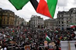 شهرهای مختلف جهان همچنان صحنه تظاهرات در حمایت از فلسطین است