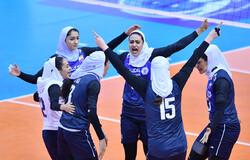 Ira's women's volleyball team