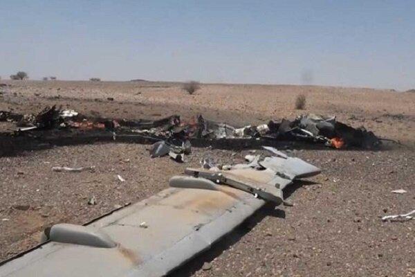 Yemen ordusu Suudilere ait casus İHA'sını düşürdü
