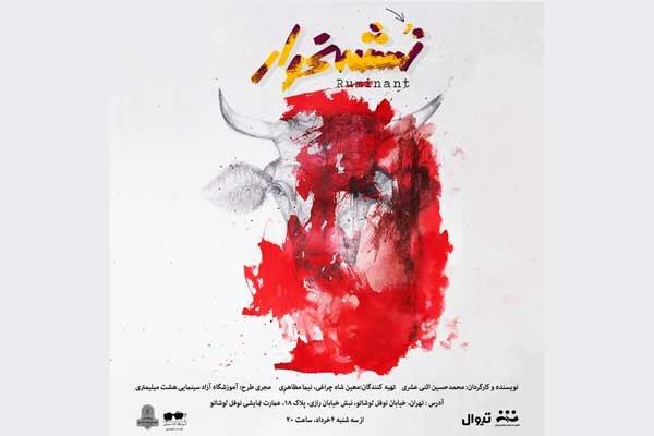 «نشخوار» در عمارت نوفل لوشاتو/ نمایش ۴ خرداد به صحنه میرود