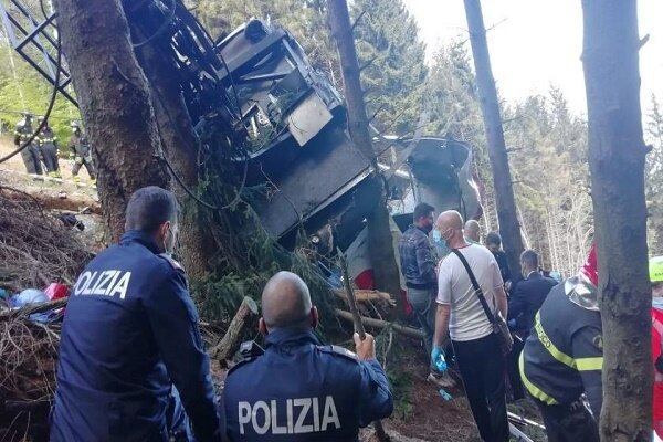 Cable car collapses in northern Italy, kills 12