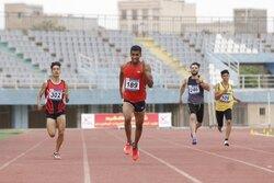 دونده جوان شیرازی قهرمان رقابتهای دو و میدانی آسیای میانه شد