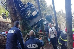 VIDEO: An Iranian found dead in a cable car crash in Italy