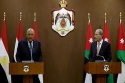 رایزنی وزیران خارجه اردن و مصر درباره فلسطین
