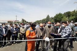 مسیر غرب به شمال تقاطعشهید سلیمانی کرمانشاه به بهرهبرداری رسید
