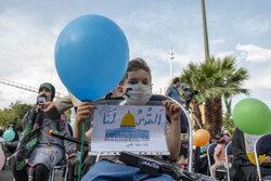 تجمع «کودکان و اسباب بازیها» به یاد بچههای مظلوم فلسطینی