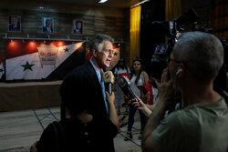 افتتاح مرکز رسانه انتخابات ریاست جمهوری سوریه