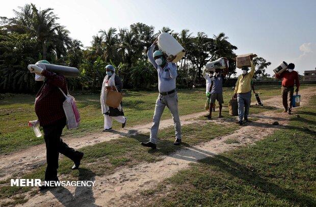 جولان کرونا در هند