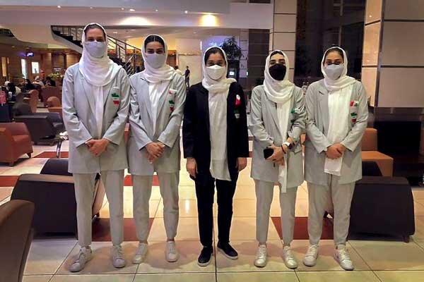 Iran women's national 3x3 team leaves for Austria