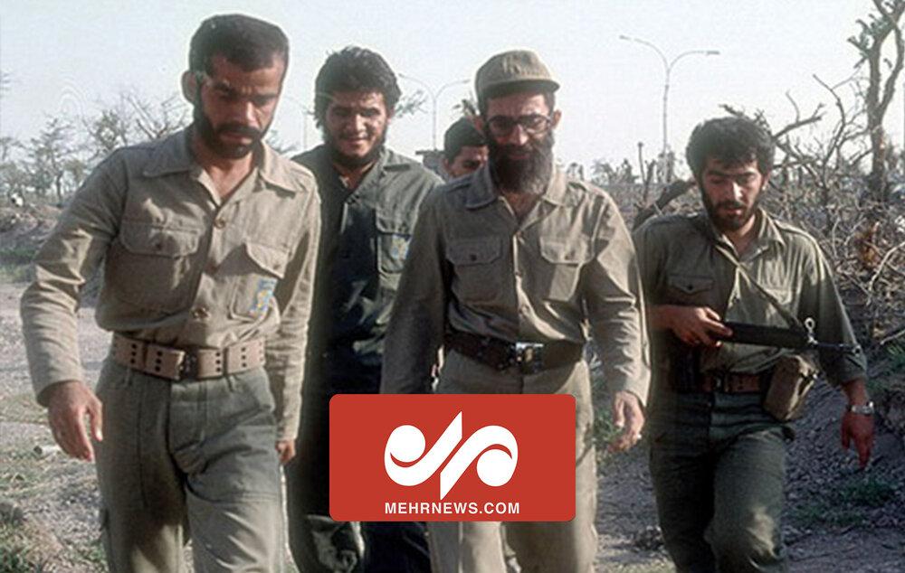 لحظات دیده نشده از حضور رهبر انقلاب در خرمشهر