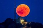 «ماه خونی» فردا در اقیانوس آرام رویت می شود/ امکان رصد ابرماه در ایران