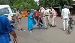 بھارت میں پولیس کا ماسک نہ پہننے پر خاتون پر تشدد