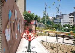 تبدیل فضای بی دفاع شهری به بوستان محلی