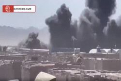 VIDEO: Fire breaks out at Afghan-Iran border by tanker blast