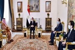 """عبدالفتاح السيسي يجري محادثات مع """"تركي آل شيخ"""" في مجال الشراكة الاستراتيجية"""