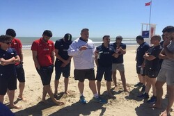 تیم ملی والیبال در ریمینی