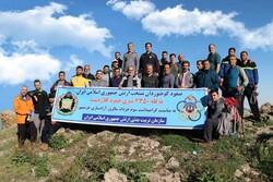 صعود کوهنوردان منتخب ارتش به ارتفاعات کلاردشت مازندران