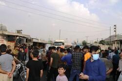 اعتراض اهالی روستای بارانگرد نسبت به کمبود آب