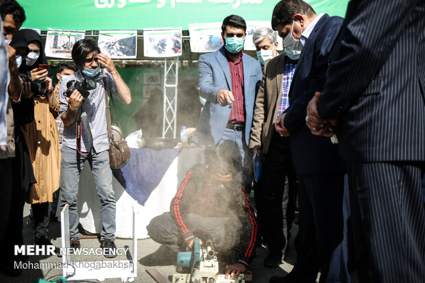 مراسم آغاز برنامه های حمایتی بنیاد احسان ستاد اجرایی فرمان حضرت امام (ره)