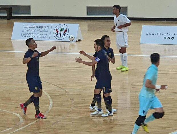 تیم ملی تایلند به جام جهانی فوتسال صعود کرد