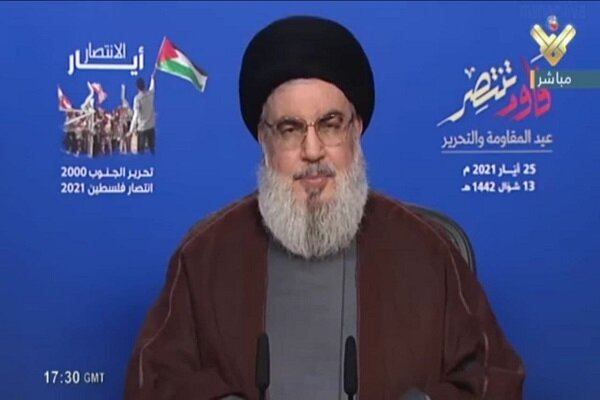Hezbollah chief hails Palestinian Resistance' victory in Gaza
