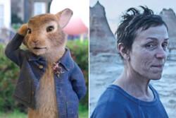 استقبال از «پیتر خرگوشه ۲» و«سرزمین آوارگان» در سینماهای بریتانیا