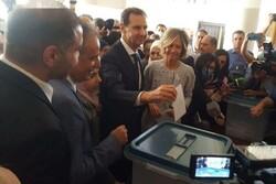 بشار اسد از میهن دوستی ملت سوریه قدردانی کرد