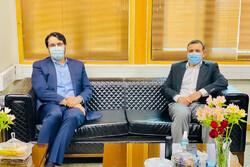 برگزاری جلسه عزیزی خادم با رئیس دیوان محاسبات کشور