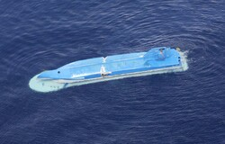Japanese fishing boat collides with Russian ship