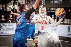 Iran 3x3 basketball