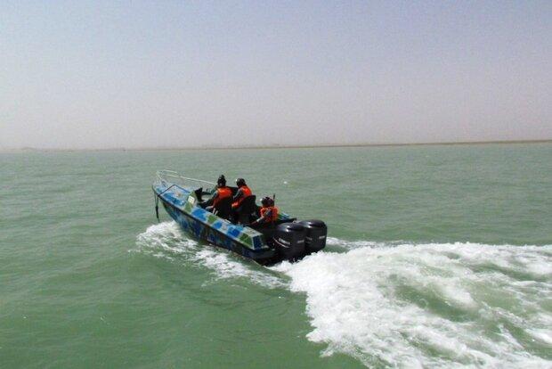 توقیف ۱۴ شناور صیادی در آبهای خوزستان