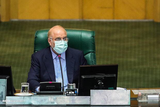 اسپیکر قالیباف نے پارلیمنٹ پر دہشت گردانہ حملے کے شہدا کو خراج عقیدت پیش کیا