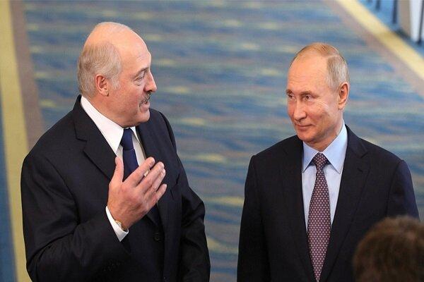 روسای جمهور روسیه و بلاروس با یکدیگر دیدار کردند