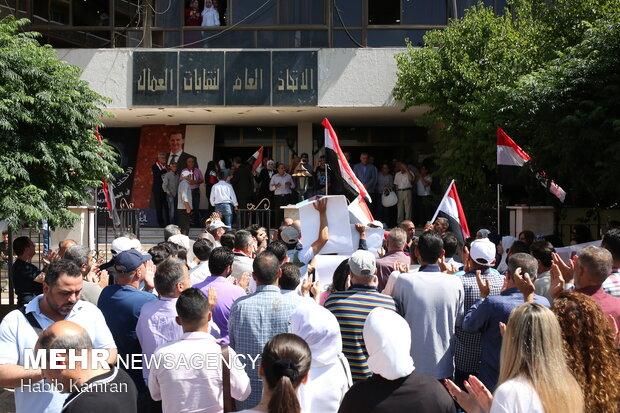 برگزاری انتخابات ریاست جمهوری سوریه