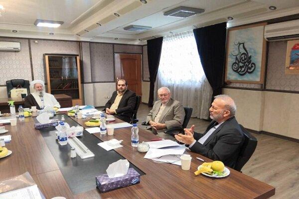 جلسه هیأت امنای مؤسسه کشوری مهد قرآن برگزار شد
