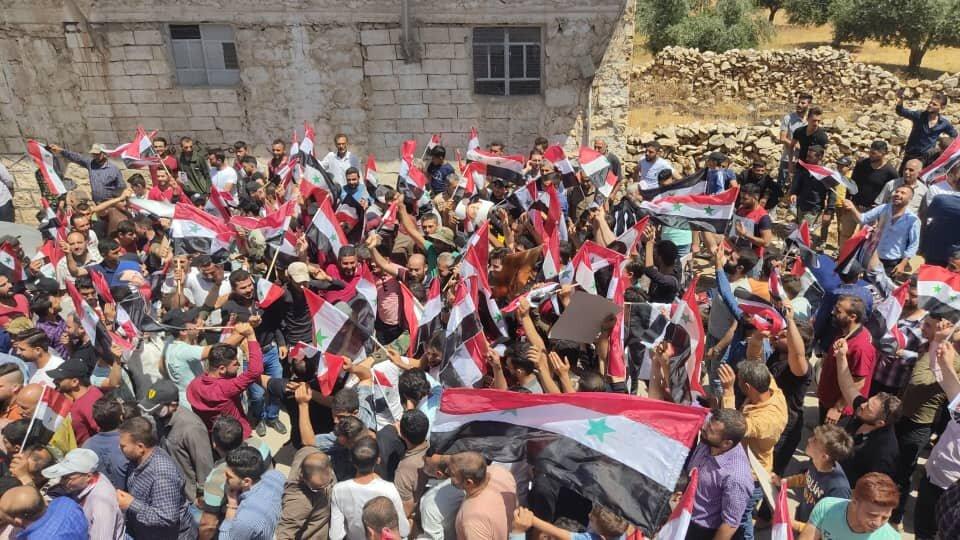 جانب من أجواء الإنتخابات الرئاسية في سوريا