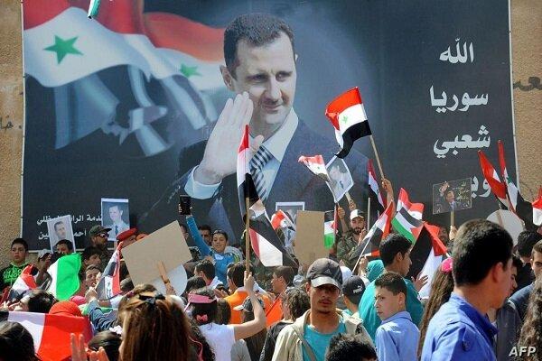 مشارکت گسترده مردم سوریه در انتخابات ریاست جمهوری + تصاویر