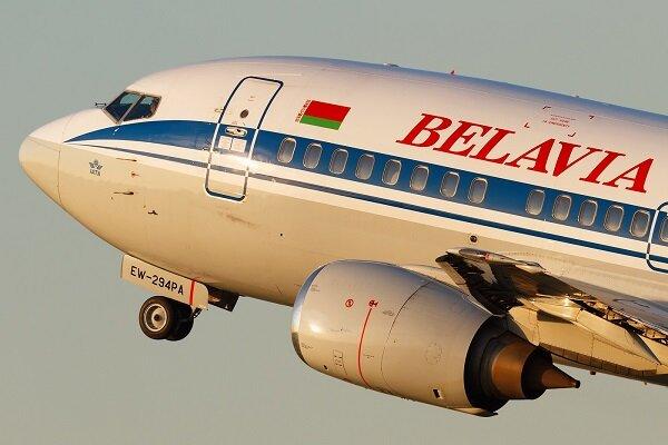 فرود اضطراری یک فروند هواپیمای شرکت «بلاویا» بلاروس در مسکو