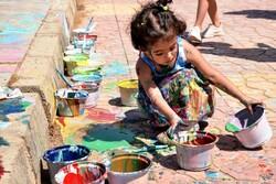 دیوار نقاشی شده کودکان اوتیسمی آبادان ثبت فرهنگی میشود