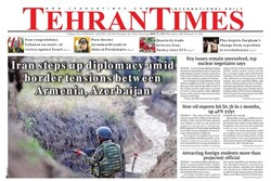Front pages of Iran's English dailies on May 27