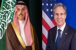 وزرای خارجه آمریکا و عربستان به صورت تلفنی گفتگو کردند