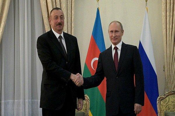 Putin'den Aliyev'e Azerbaycan Cumhuriyet Bayramı tebriği