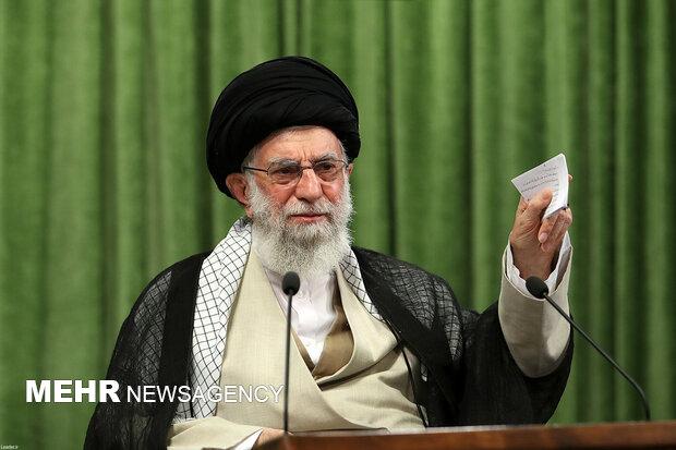 """İslam Devrimi Lideri'nden """"Seçimlere katılın"""" çağrısı"""