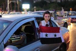 Suriye'deki seçim kutlamalarından fotoğraflar