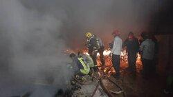 آتش سوزی در یک هتل/ نجات ۱۵ نفر از چنگال آتش در اهواز