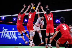 Iran volleyball team