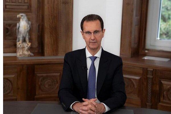 شام کے صدر بشار اسد کی ایران کے نو منتخب صدرجناب رئیسی کو مبارکباد