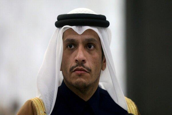 حامد کرزای و عبدالله عبدالله با وزیر خارجه قطر دیدار کردند