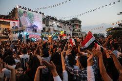 جشن پیروزی بشار اسد در لاذقیه
